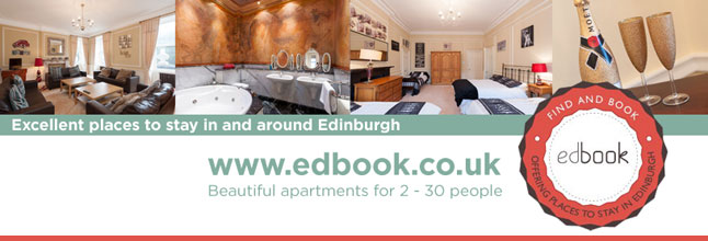 Beautiful places to stay in and around Edinburgh